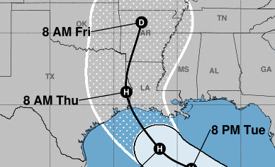 NHC Reflects on Laura's Forecast Accuracy