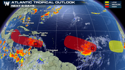 Tropical Atlantic Waves to Watch