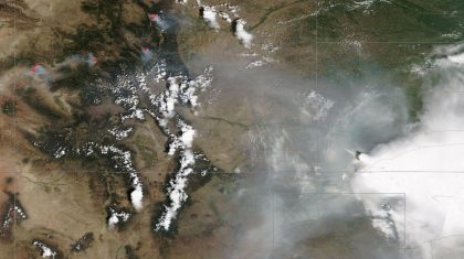 A Colorado Summer: Drought, Wildfires and Smoke