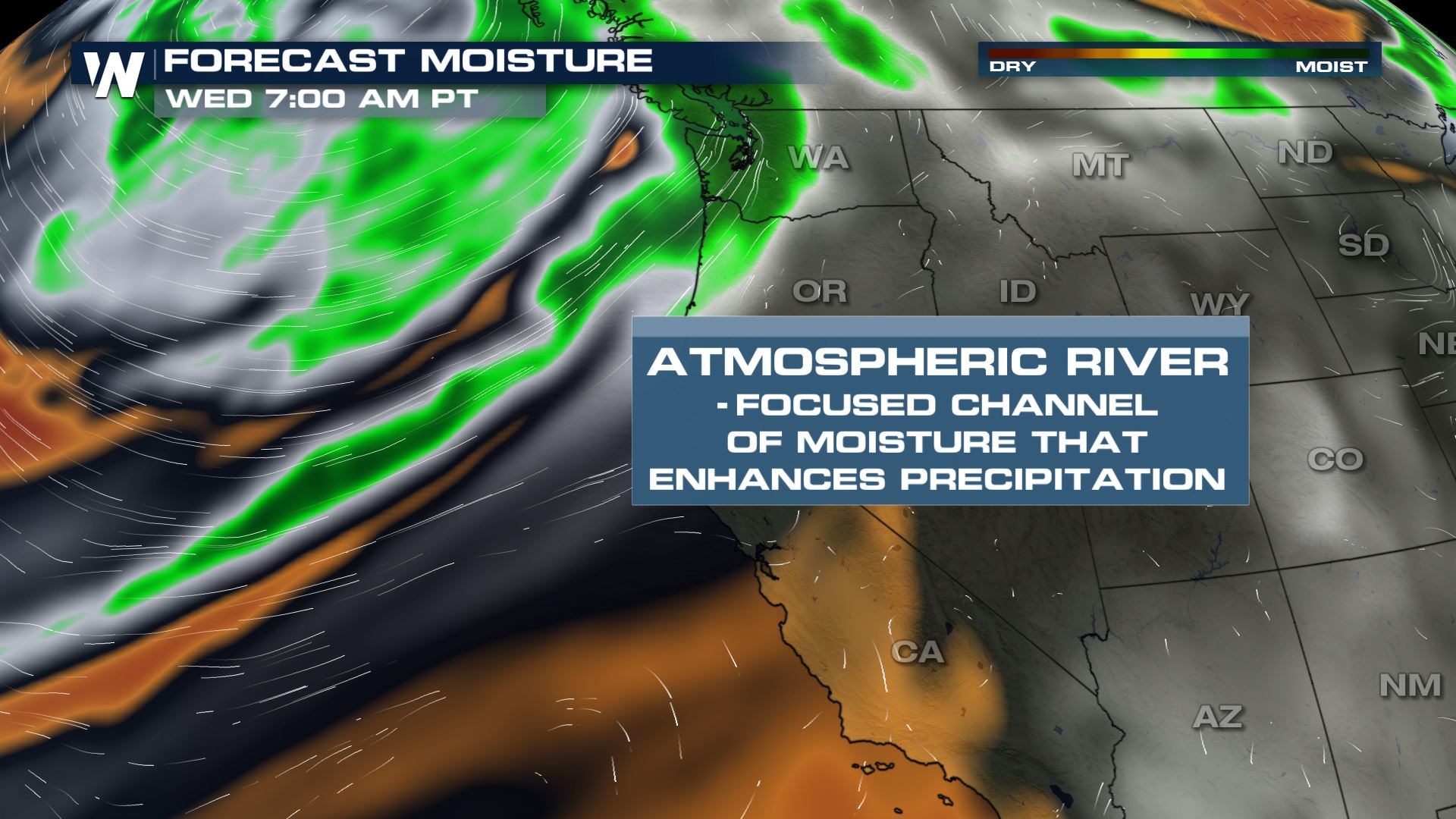 Pacific Northwest: Atmospheric River to Bring More Rain