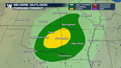 Sunday Severe Weather Update