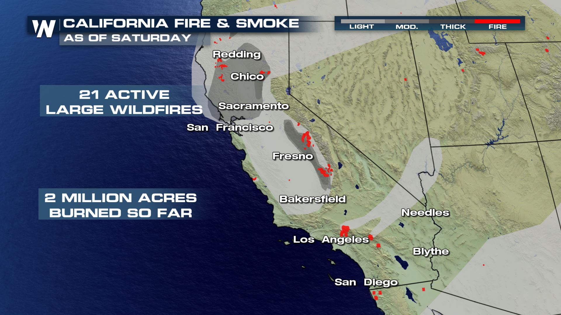 Fire Update Across The West