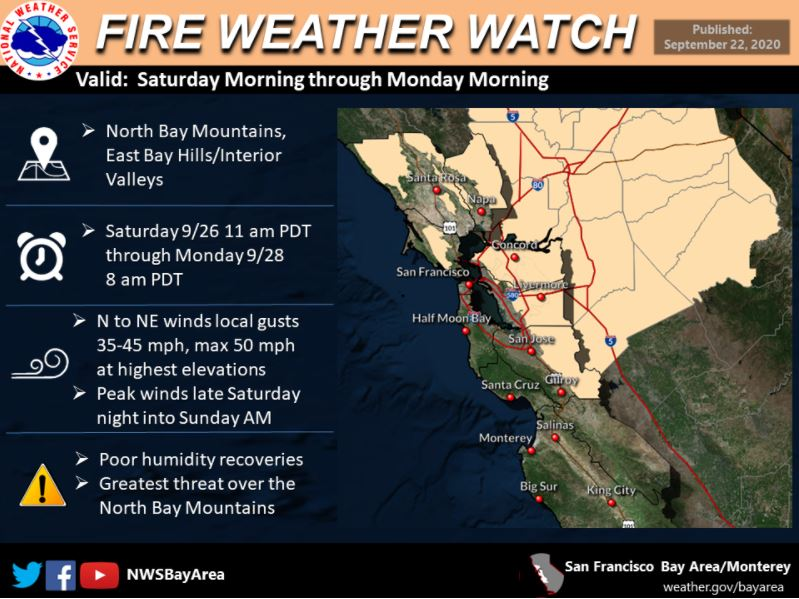 Fire Weather Watch Bay Area Weathernation The plant was found near mountain lake in san francisco in 1776. weathernation