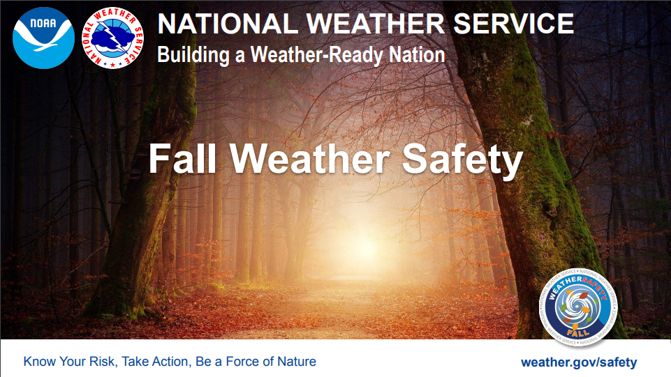 Preparing for Fall with NWS