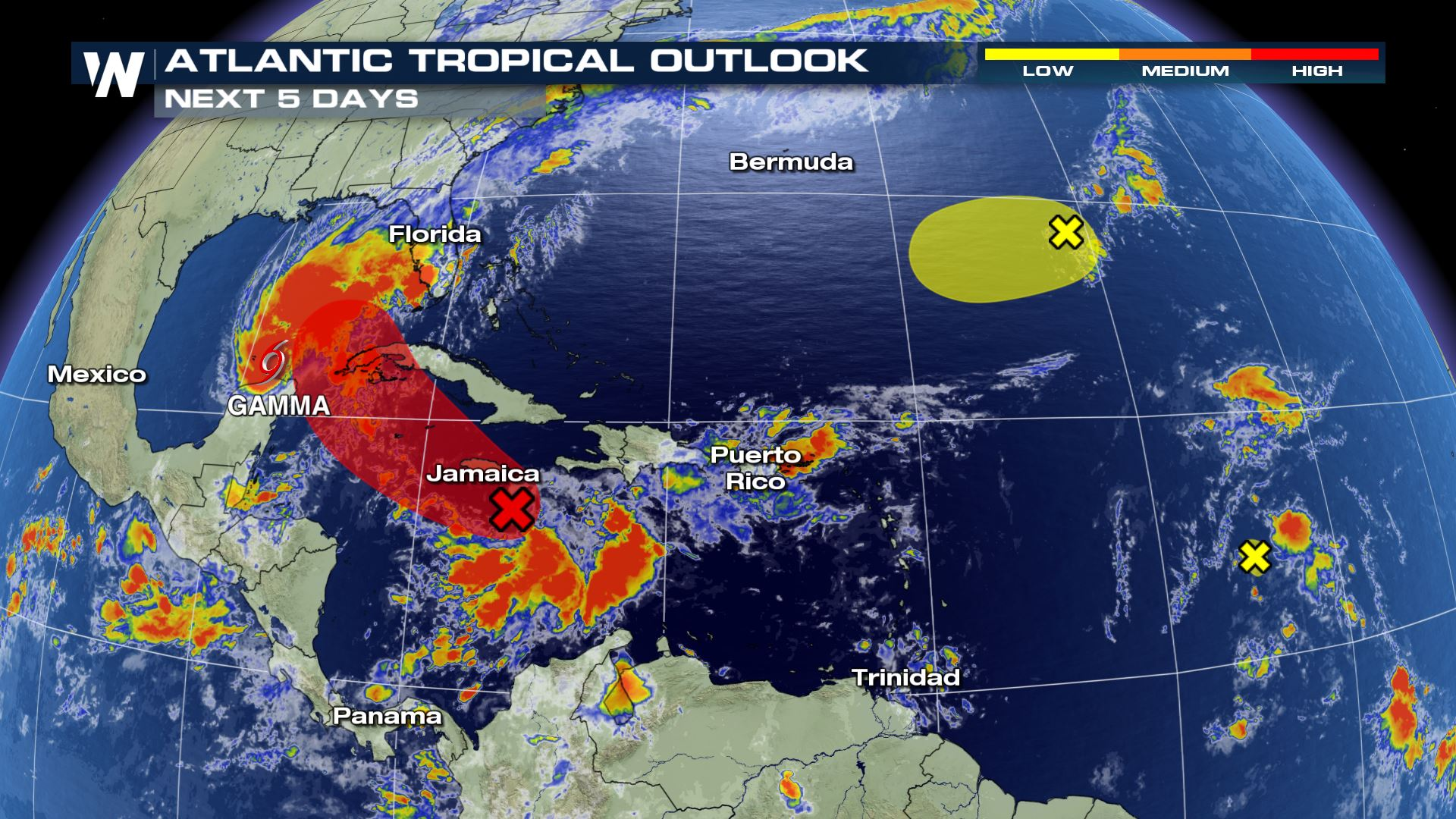 Tropics Update: Areas of Interest in the Atlantic Basin