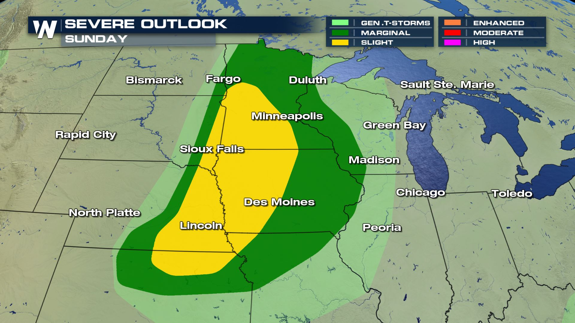 Severe Weather Sunday in the Midwest