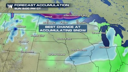 Alberta Clipper Brings Snow Potential to the Northern Plains and Great Lakes