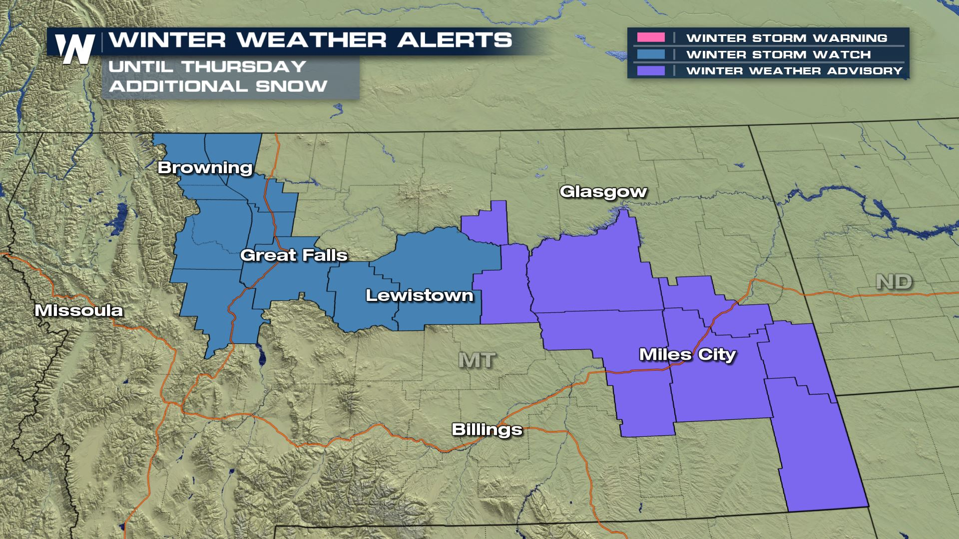 More Snow on the Way, Northern Rockies to Upper Midwest