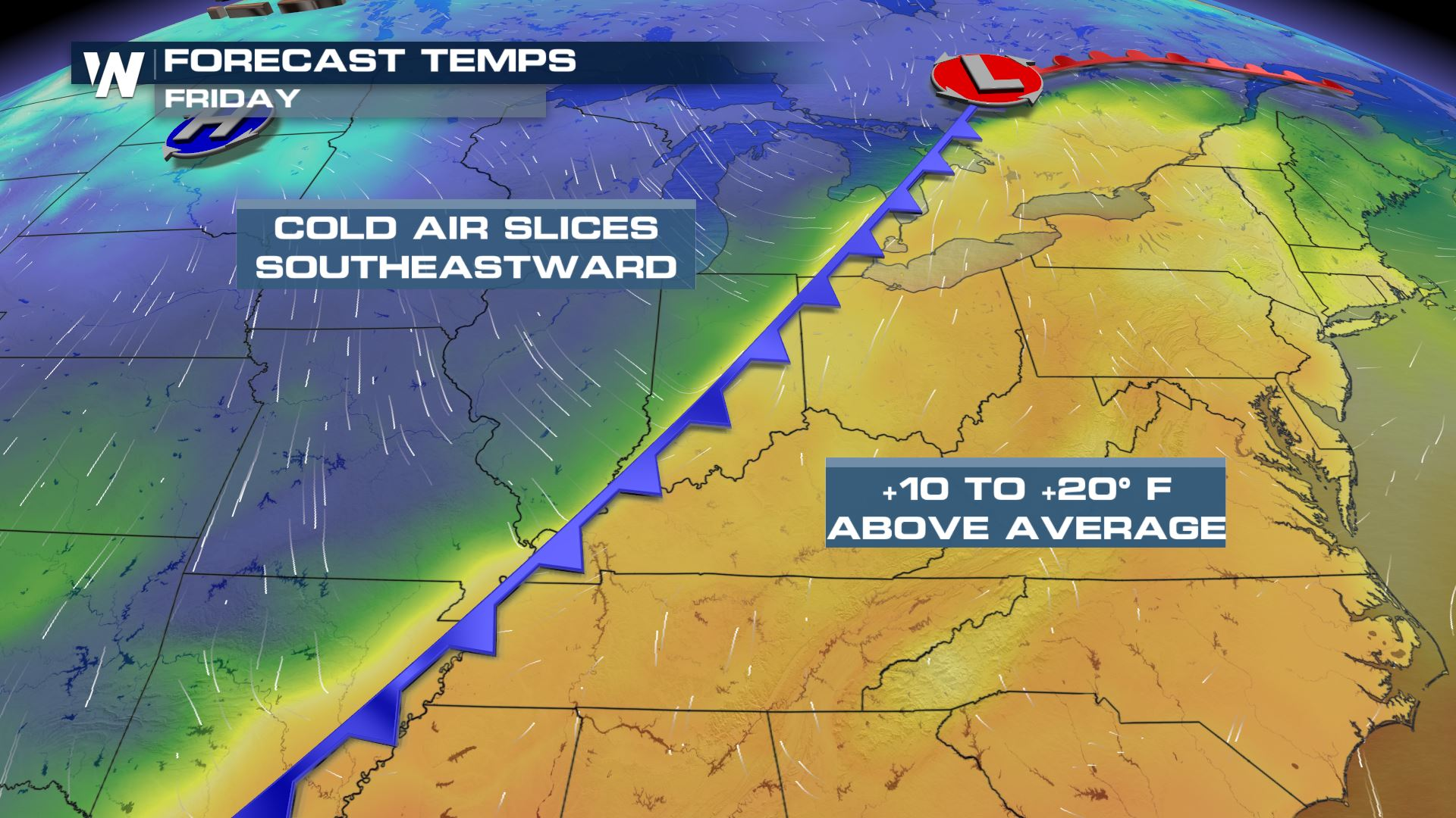 Severe Weather Threat Friday from Michigan to Arkansas