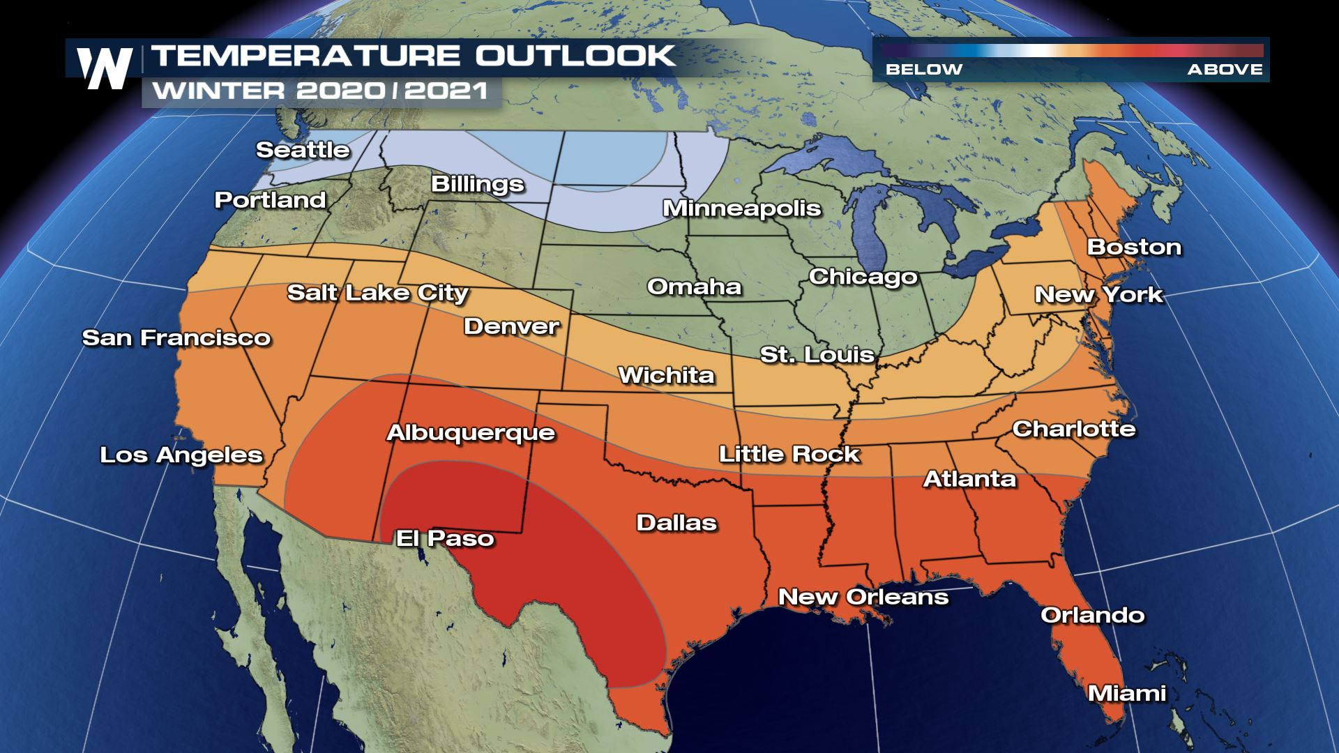 NOAA Releases Winter Outlook