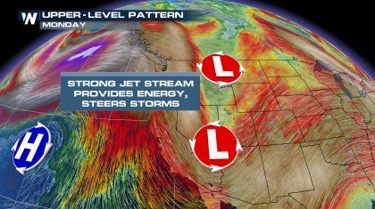 Pacific Moisture Favors Snow in the Northwest, Rockies and Upper Midwest