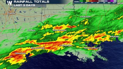 Flooding Threat Continues Along the Gulf Coast