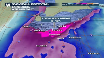 Winter Storm to Bring Snow to the Midwest & Great Lakes Region