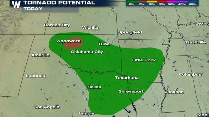 Severe Weather Threat in the Southern Plains