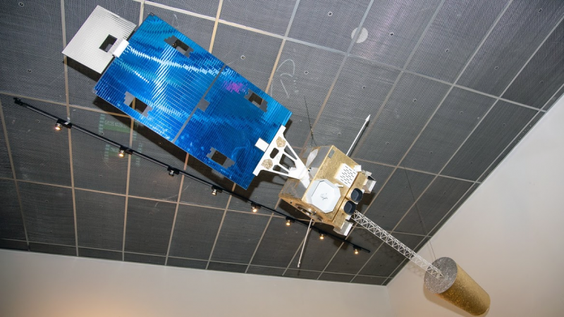 Weather Satellite's Instruments Find a Home at the Smithsonian