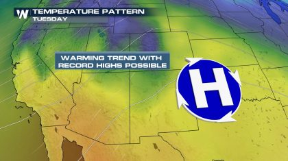 Record Highs Possible In The Southwest This Week