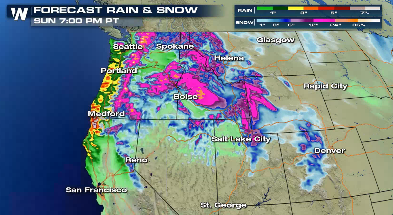 Another Round of Snow for the Northwest