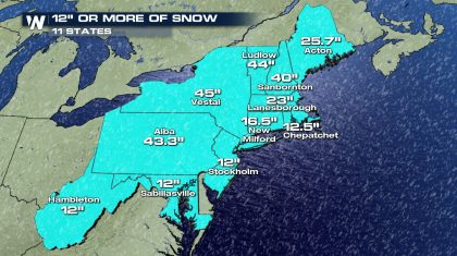 Recapping This Historic Nor'easter