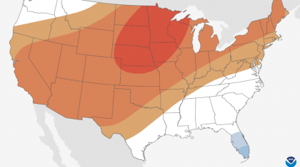 Updated December Outlook: Warmer & Drier For Most of the U.S.
