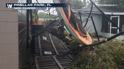 Tornadoes Confirmed In Florida