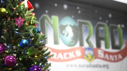 Tracking Santa with NORAD