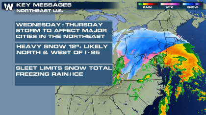 Nor'Easter to Bring Heavy Snow and Ice