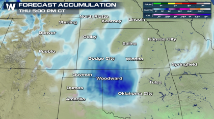 More Snowfall Ahead for The Plains