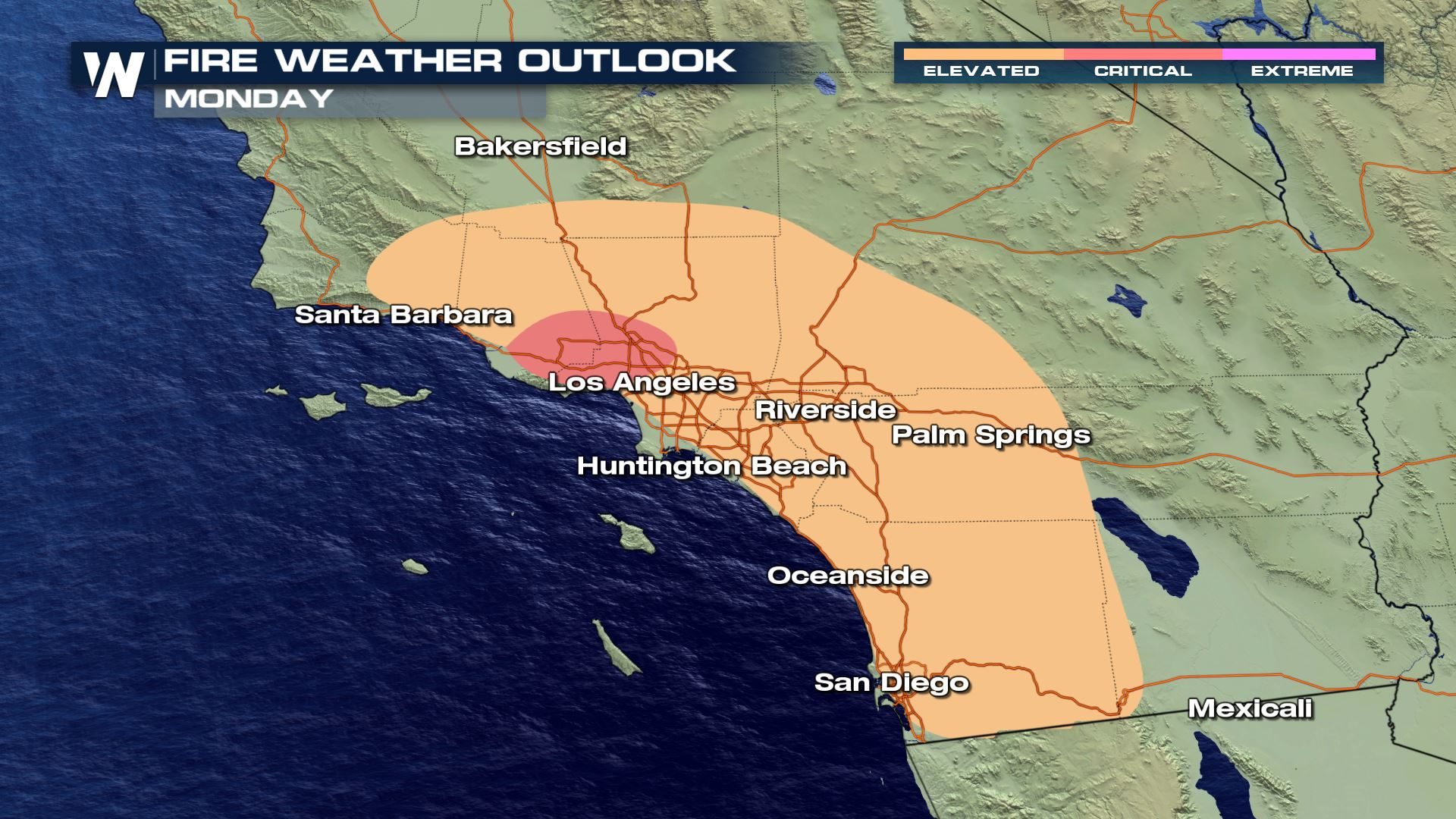 Fire Weather Concern Remains in the Southwest