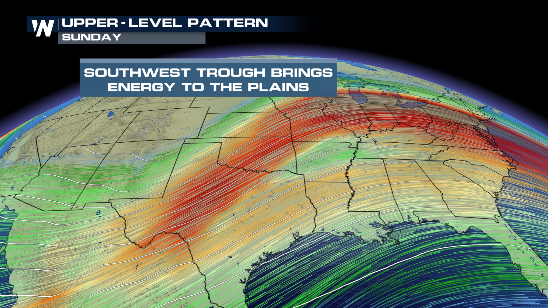 Trough Brings Chances for Strong Storms and Wintry Weather to the Plains & Midwest