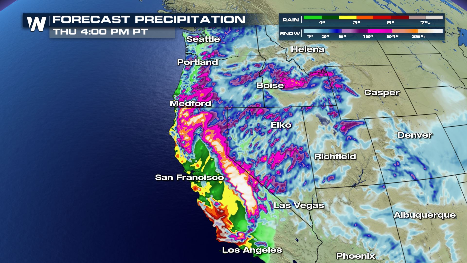 A More Potent, Longer Lived Storm to Hit the West