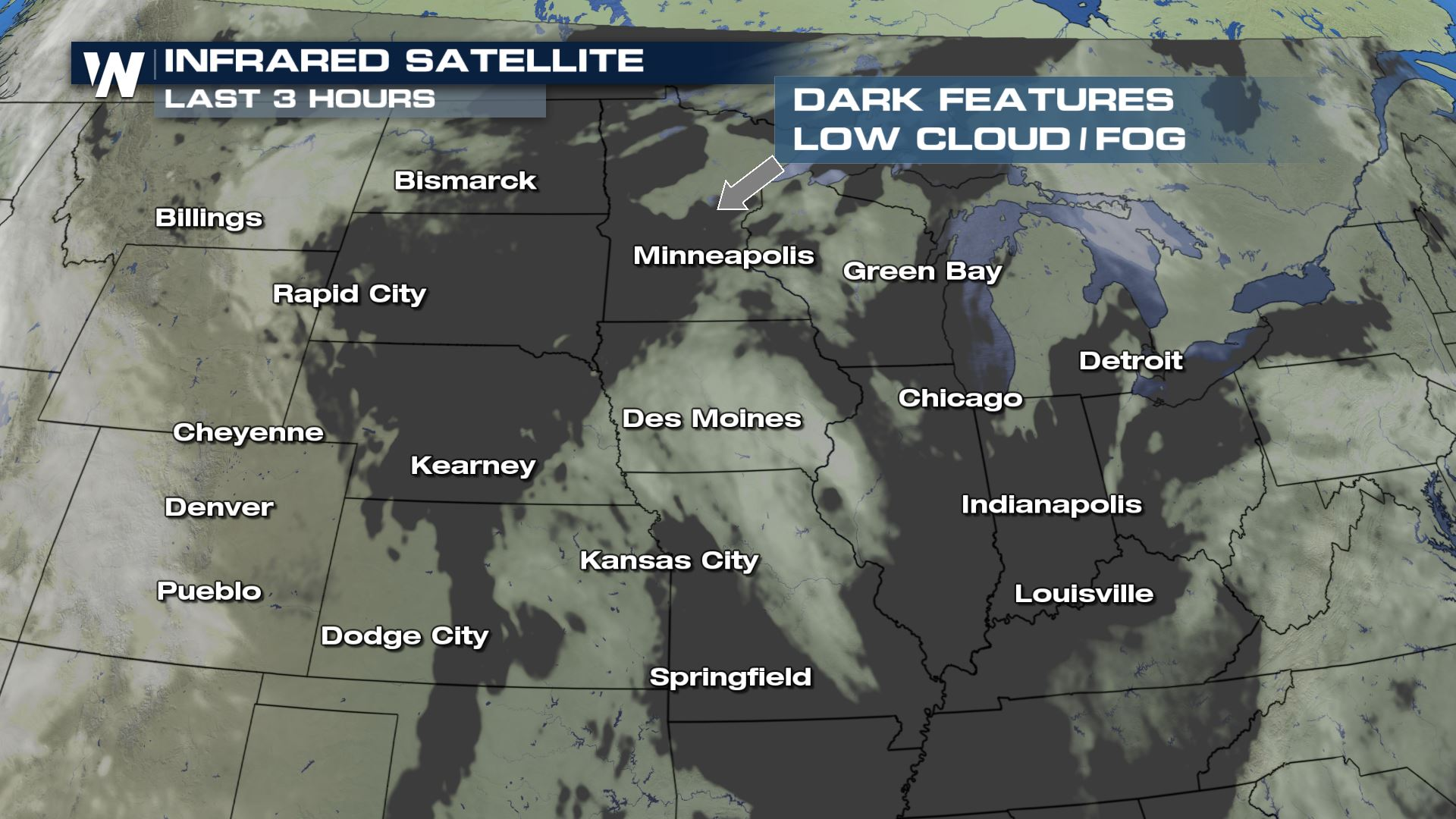 Dense Fog Continues In Upper Midwest This Weekend