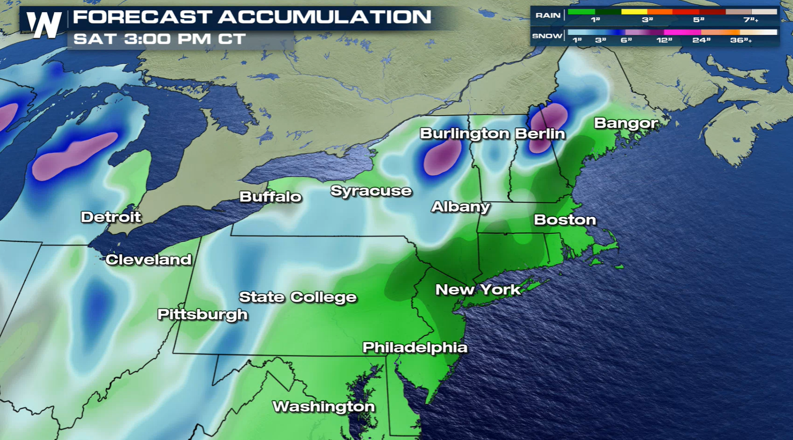 Late-Week Storm to Bring Colder Air and Snow to the Northeast