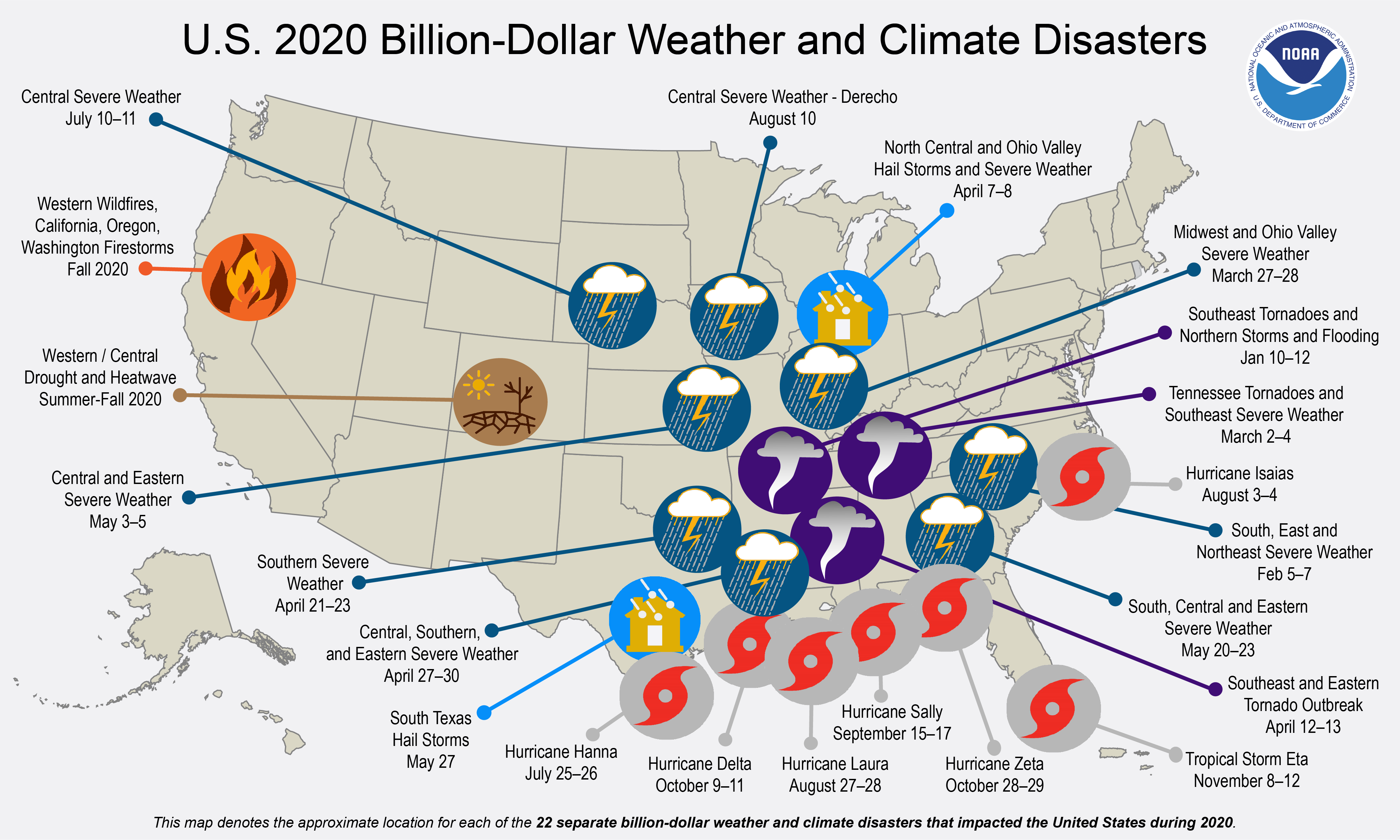 2020 Billion Dollar Disasters: A Top NOAA Expert Weighs In