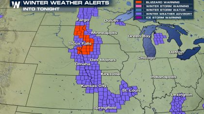 Blizzard Warnings Expire Tonight