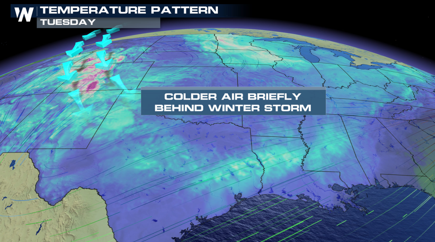 Cold Temperatures Ahead for the South