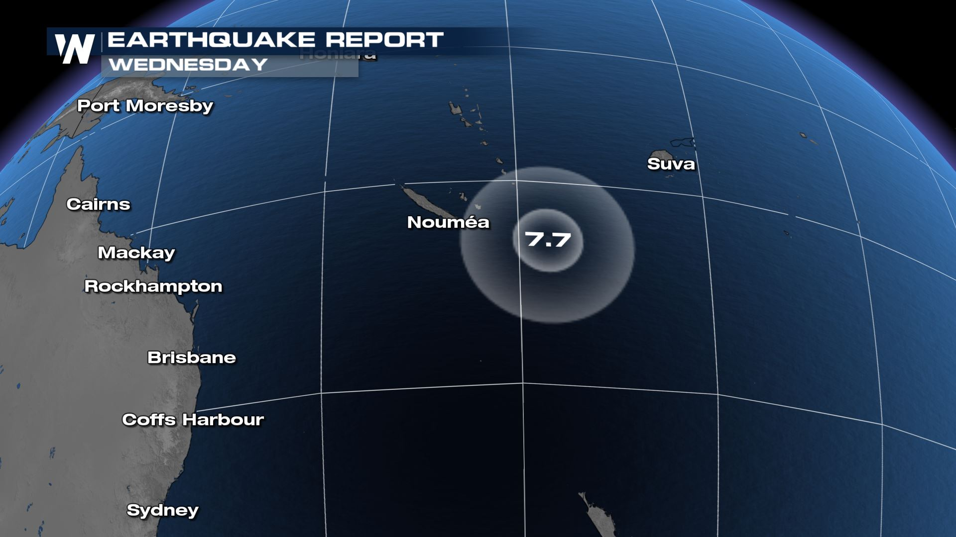 Tsunami Confirmed After Major Earthquake Reported Southwest of Fiji