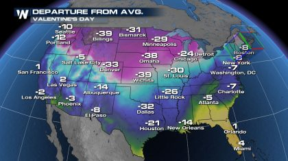 Frigid Yet Festive Holiday Forecast