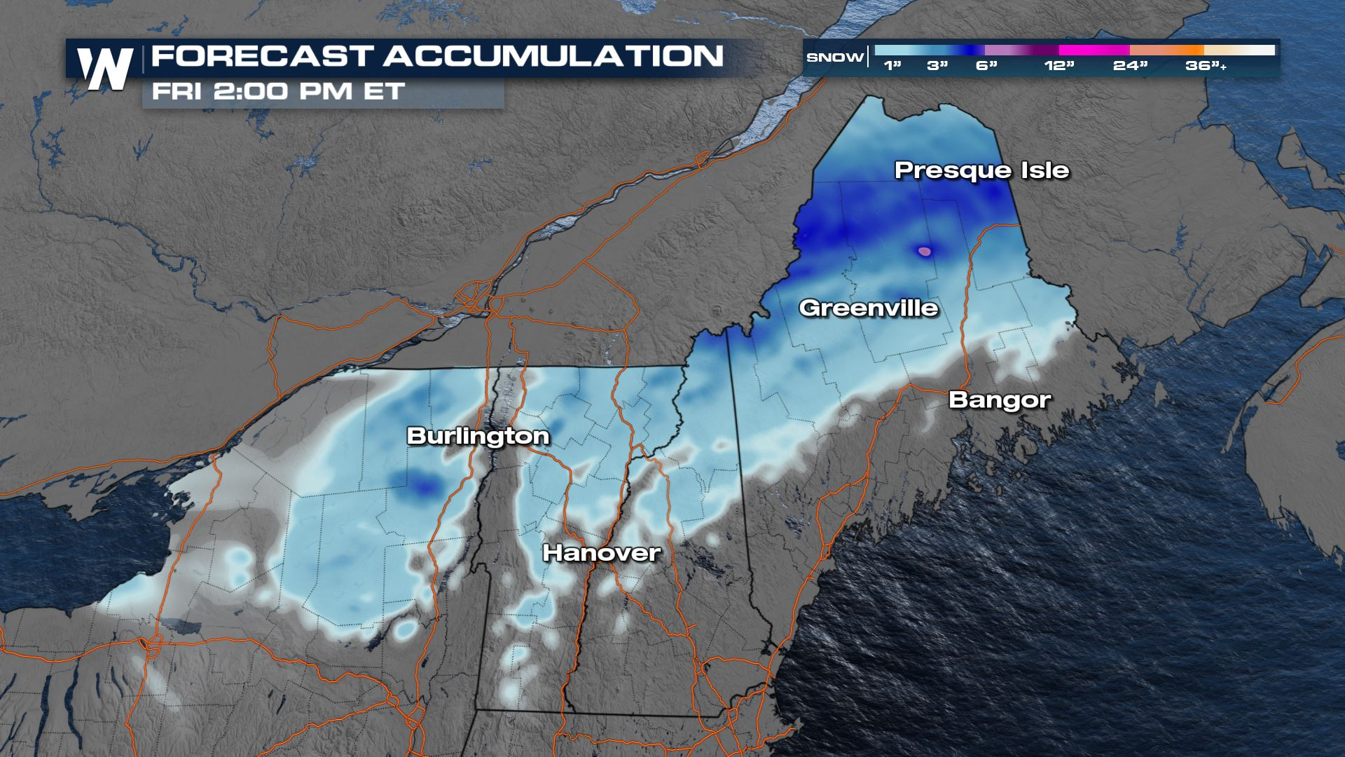 Winter Weather Alerts Continue for Maine