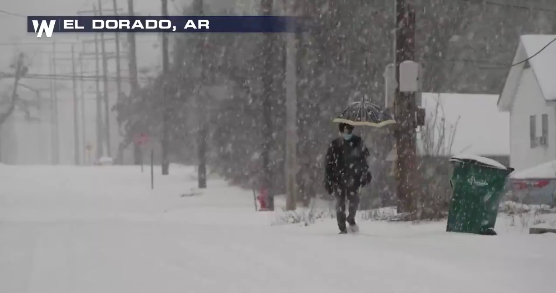 Another Round of Ice and Snow Slamming the South