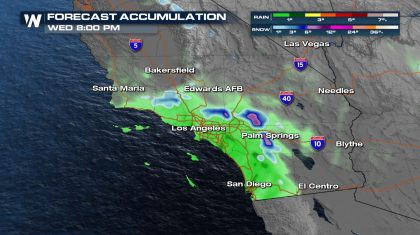 Next Chance for Precipitation in the Southwest
