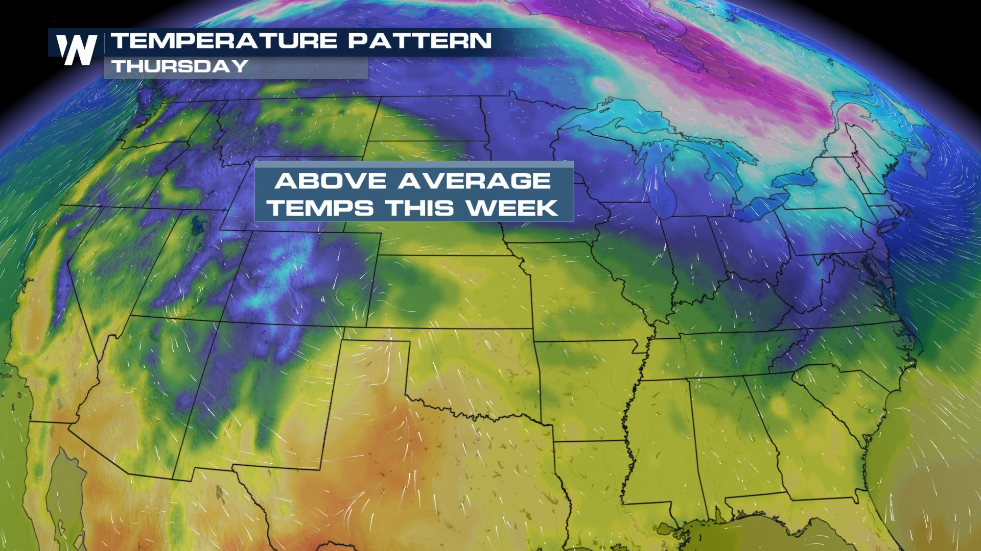 Spring Is Marching Into The Plains
