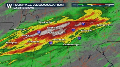 A Closer Look at the Record Setting Nashville Flooding