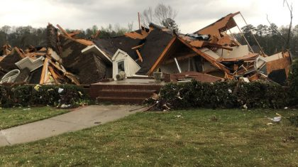 Tornadoes Rip Through Central Alabama Thursday