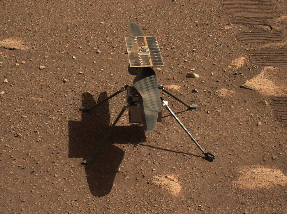 1st Helicopter Flight on Mars Delayed to Wednesday