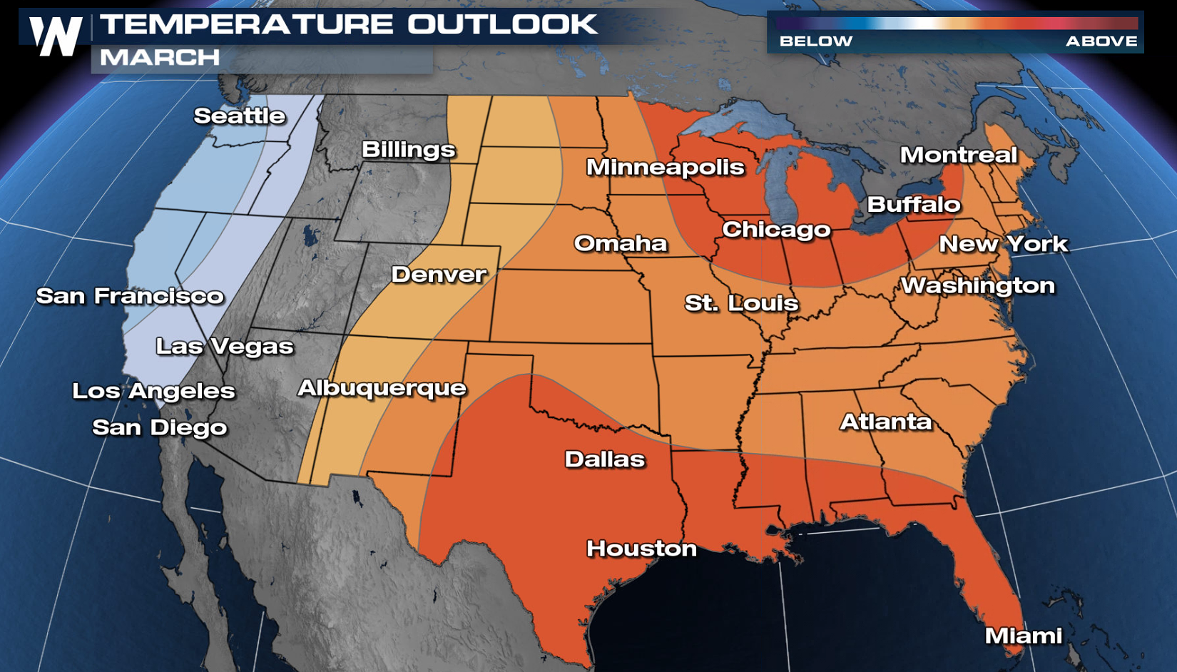 Updated March Outlook: A Warm Start to Meteorological Spring