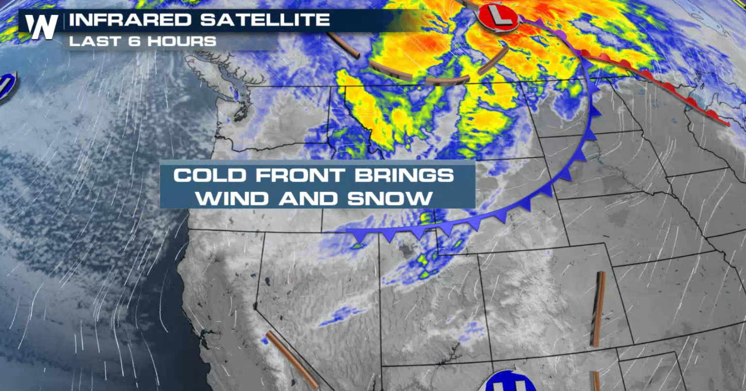 Round of Snow for the Northwest