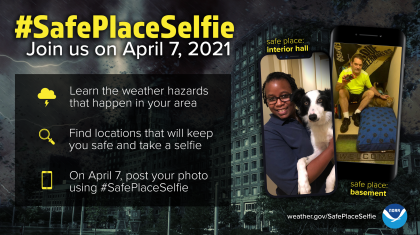 Building a Weather-Ready Nation: Safe Place Selfie Day