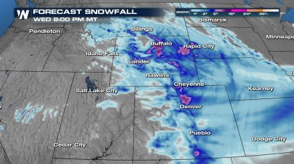Another Spring Storm for the Rockies