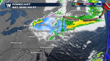 April Ends Wet, Cold and Windy for the Northeast