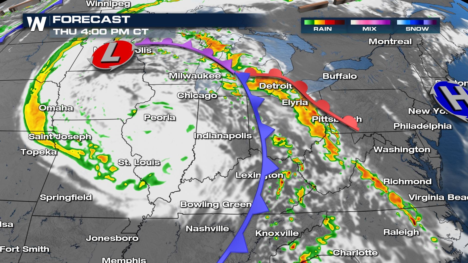 Severe Weather Threat Continues Thursday